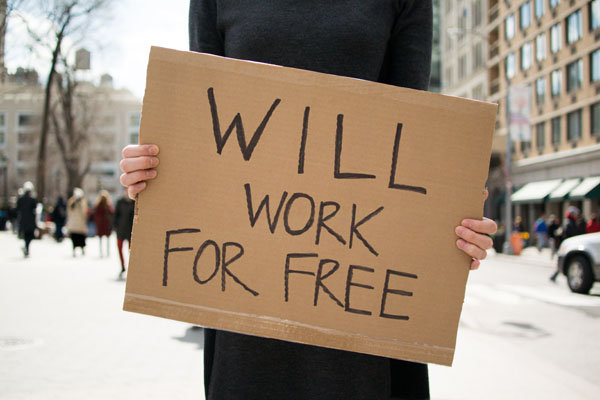 Working for free