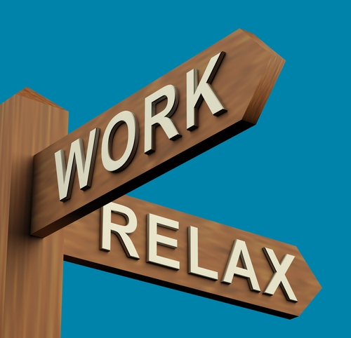 work-relax